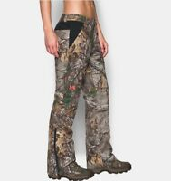 UA Under Armour Extreme Women's Hunting Pants Camo Real Tree MSRP $240 NEW