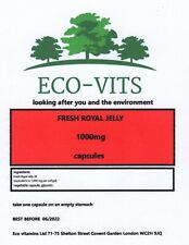 ORGANIC FRESH ROYAL JELLY 1000mg 60 caps overall well-being energy levels