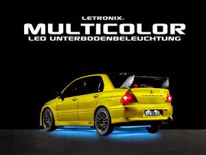 LETRONIX Flexible Multicolor RGB LED Unterbodenbeleuchtung mit APP Steuerung