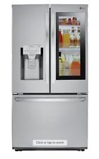 Lg Lfxs26596S 26Cu French InstaView Door-in-Door Refrigerator W/Dual Ice Maker
