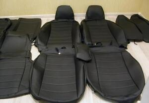 for Volvo XC-60 from 2008-2017 SEAT COVERS PERFORATED LEATHERETTE