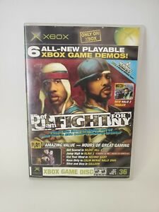 XBOX Magazine Demo Disc 36 Def Jam Fight For NY Silent Hill 4 Second Sight Blinx