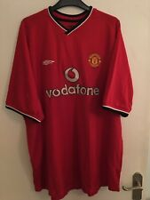 Manchester United Shirt 2000/02 XXL Home Umbro