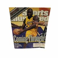 SPORTS ILLUSTRATED January 17, 2000 Shaq And Lakers Coming Through!!!