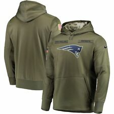 2018 New England Patriots Mens NFL Nike Salute to Service Hoodie (2XL)