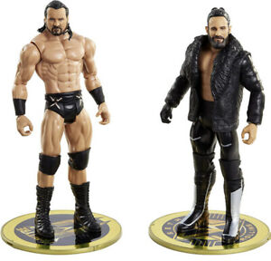 WWE Seth Rollins VS Drew McIntyre FIGURE 2 PACK 10 ACC NEW Fast Free Shipping
