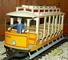 Bachmann G Scale 504 United Traction Co. Powered Trolley; Lights up and runs
