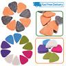 10pcs Médiators Plectre Triangle Multicolore pour Acoustique Jazz Ukulele