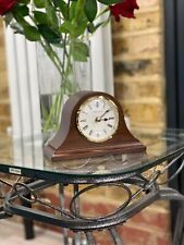 London Clock Company  Dark Wooden Quartz Napoleon Mantle Clock 06432