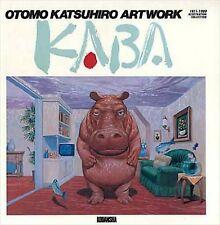 Otomo Katsuhiro Artwork Kaba 1971-1989 Illustration Book Collection 1st. Edition