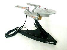 Star Trek Enterprise phone NCC 1701 telemania space final frontier 1993 VTG tech