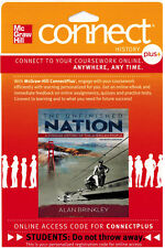 Connect 2-Semester Access Card for The Unfinished Nation 7th Edition