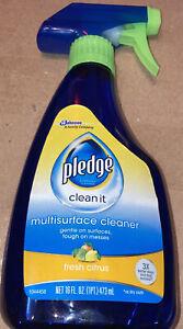 Multi-Surface Cleaner, Clean Citrus Scent, 16oz Trigger Bottle 644973EA 644973EA