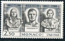 STAMP / TIMBRE DE MONACO N° 767 ** LOUIS XVIII NAPOLEON 1° CHARLES X