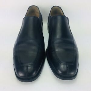 Saks Fifth Avenue by Cole Haan Men's Size 8.5 M Black Leather Split Toes Shoes
