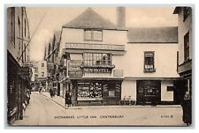 old postcard Micawber's Little Inn, Canterbury England, Valentine's No. 87723