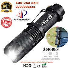 Camping 50000lm T6 LED Flashlight Torch 3 modes Zoom Tactical 14500 Lamp Light Z