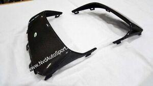 Porsche Cayenne 958.2 GTS Carbon Fiber Front Bumper Side Grille Frames