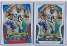 Barry Sanders 2019 Prizm refractor insert card lot / Silver / RWB / Lions