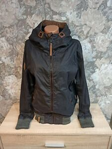 Naketano Women's   jacket black  Color size S hooded unisex
