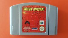 MISSION: IMPOSSIBLE / jeu Nintendo 64 / PAL EUR FRA Mission Impossible
