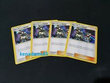 4 x Pokemon SM6 Forbidden Light Ultra Recon Squad Trainer Cards 114/131