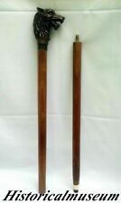Walking Cane - Brass Handle Walk Stick - Maritime Designer Gift Item