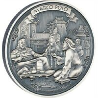 Niue- 2015 - Silver $2 Proof Coin- 2 OZ  Journeys of Discovery - Marco Polo!!