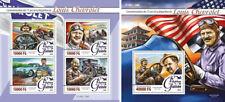 Louis Chevrolet Sport Cars Auto Racing Transport Guinea MNH stamp set