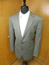 Mens Blazer Sport coat Jacket Ralph Lauren 44R Gray Herringbone100% Wool S-#116