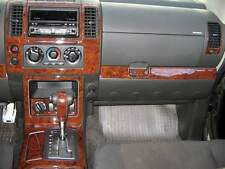2005 2006 2007 INTERIOR BURL WOOD DASH TRIM KIT SET FOR NISSAN PATHFINDER SE LE