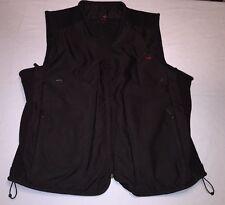 TUMI Fishing Hunting Travel Multi Pockets Raider Tactical Vest Men's Black Sz XL