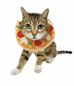 Hyde & Eek Boutique Pet Pizza Neckwear Costume Collar