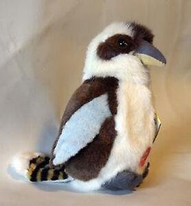 NEW PLUSH SOFT Australian Blue-Winged Kookaburra Song Sound