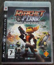 Lot 3 Jeux Ratchet & Clank PS3 FR