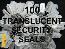 SECURITY SEALS, TRANSLUCENT, HIGHER-SECURITY, GOVERNMENT GRADE SEALS