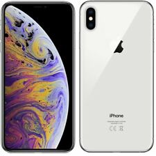 Apple iPhone XS Max 4G Smartphone 4GB RAM 64GB Unlocked Sim-Free - {Silver} C