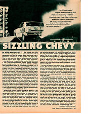 1965 CHEVELLE Z-16 TURBONIQUE ROCKET DRAG AXLE / JACK McCLURE ~ ORIG ARTICLE/AD