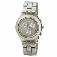 Swatch Men's Watch Full-Blooded Smoky Sand Dial Aluminum Bracelet SVCG4000AG
