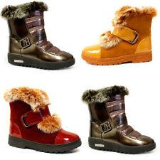 Mid Heel (1.5-3 in.) Fur Standard Width (B) Boots for Women