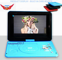 "HD DVD Player CD 13.9"" TV Player 16:9 LCD Widescreen Card Reader EVD Player"