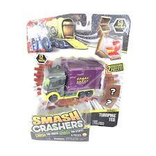 Smash Crashers Turnpike Ted - Crash The Truck! UNbox The Stuff! New
