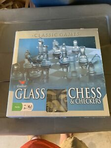 Cardinal glass chess and checkers