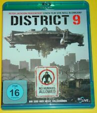 Blu-ray DVD - DISTRICT 9 / SCIENCE FICTION - ACTION / PETER JACKSON / FSK 16