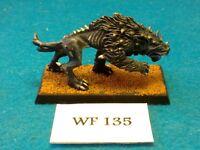 Warhammer Fantasy - Chaos Warhound Painted - Metal WF135