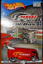 HOT  WHEELS  VW BUS  RACING (red)  PENSKE  AUTO  CENTER  SPECIAL EDITION  yr2001