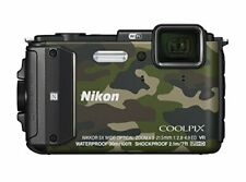 Nikon Digital Camera Coolpix Aw130 Camouflage Green