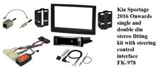 Kia - Sportage IV (2016 onwards Stereo Fitting Kit & Can Ignition & Sevice Cable