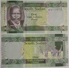 Sur de sudán/southsudan 1 pounds (2011) UNC