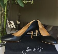 bbb888811a5 Shoes of Prey black Madison leather heels pumps Womens Shoes 9.5W NEW